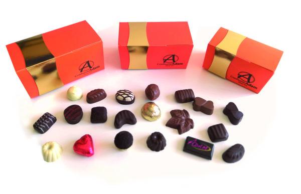 ballotin de chocolats confiserie adam