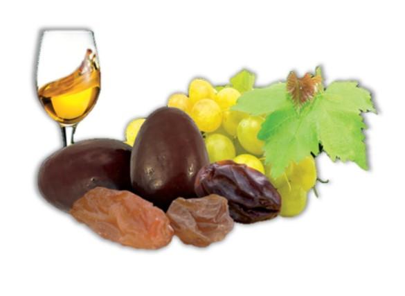 bonbons raisins au Sauternes et chocolat noir bio