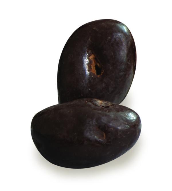 bonbons coeur de courge au chocolat noir bio