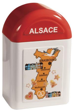 boîte cadeau borne Alsace fermée