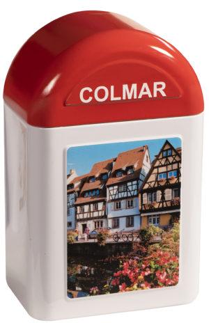 boîte cadeau borne Colmar fermée
