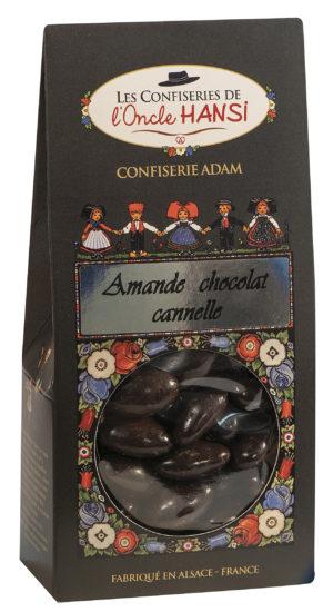 sachet bonbons amande, chocolat et cannelle l'oncle Hansi