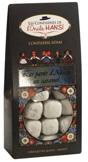 sachet bonbons pavés d'Alsace au caramel l'oncle Hansi