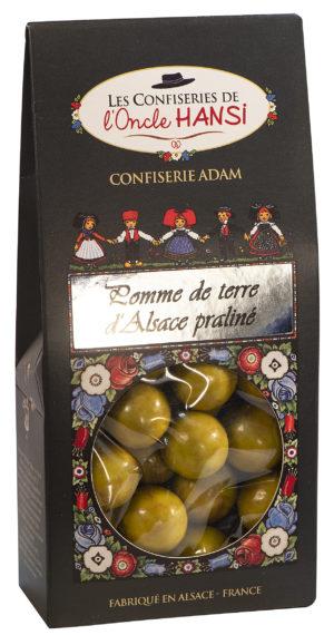 sachet bonbons pomme de terre d'Alsace et praliné l'oncle Hansi