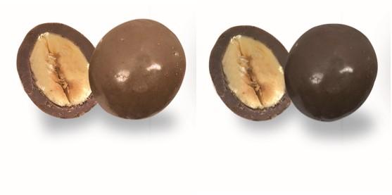 noisettes au chocolat lait et noir confiserie adam