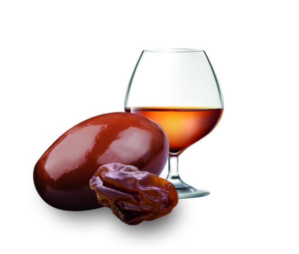 raisin macéré au chocolat cognac confiserie adam
