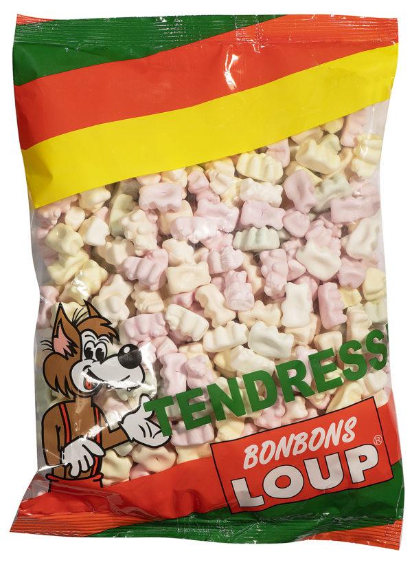 bonbons loup sachet d'oursons tendres