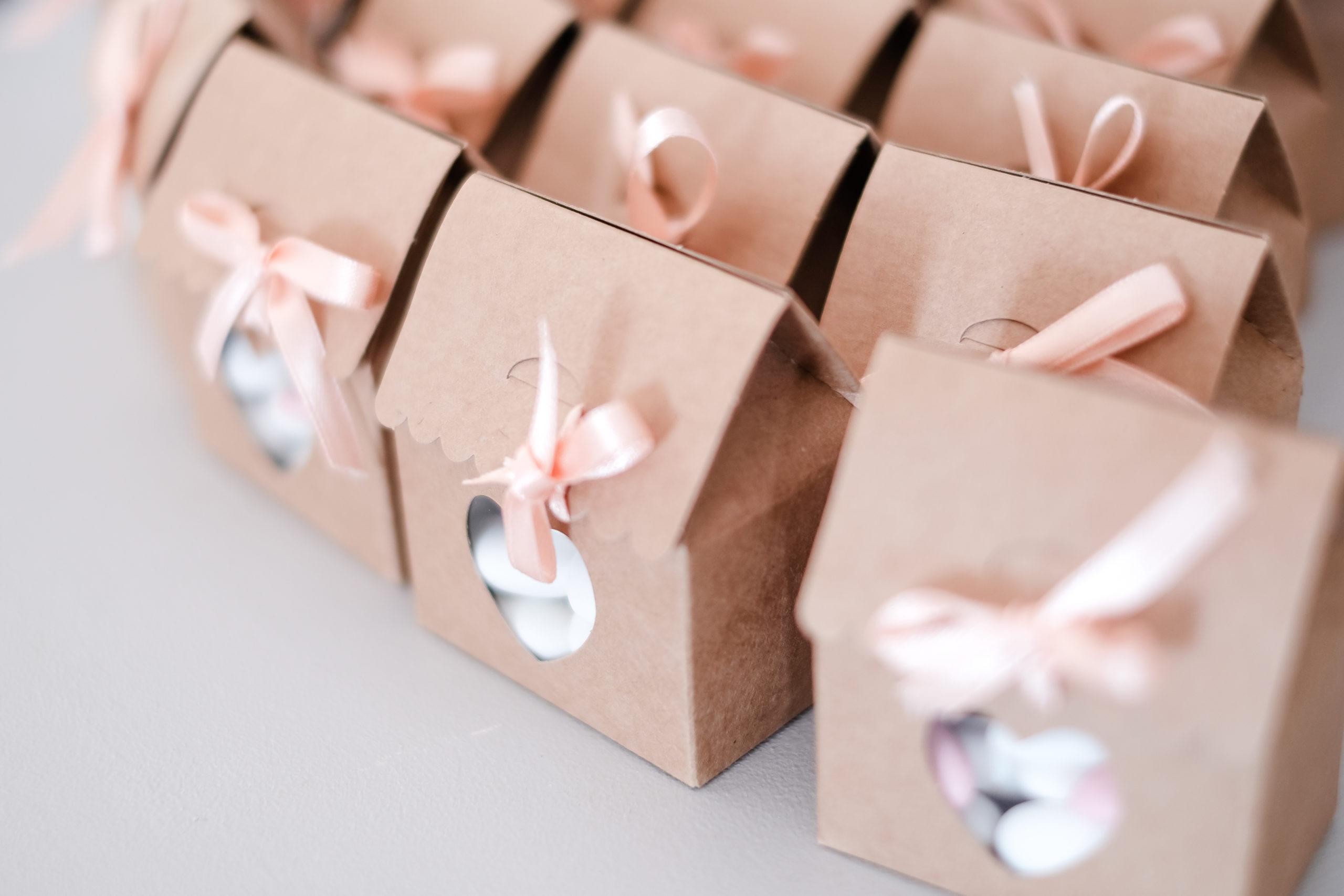 DIY Cadeau invité mariage – La boite cœur