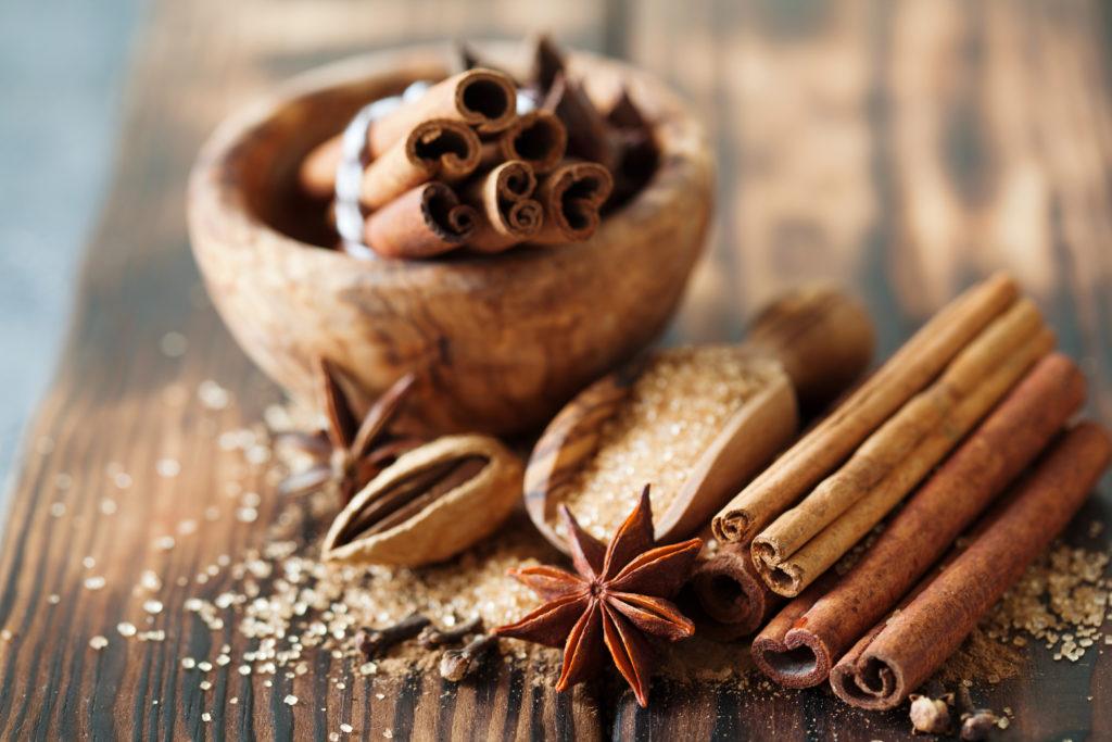 Amande chocolat cannelle