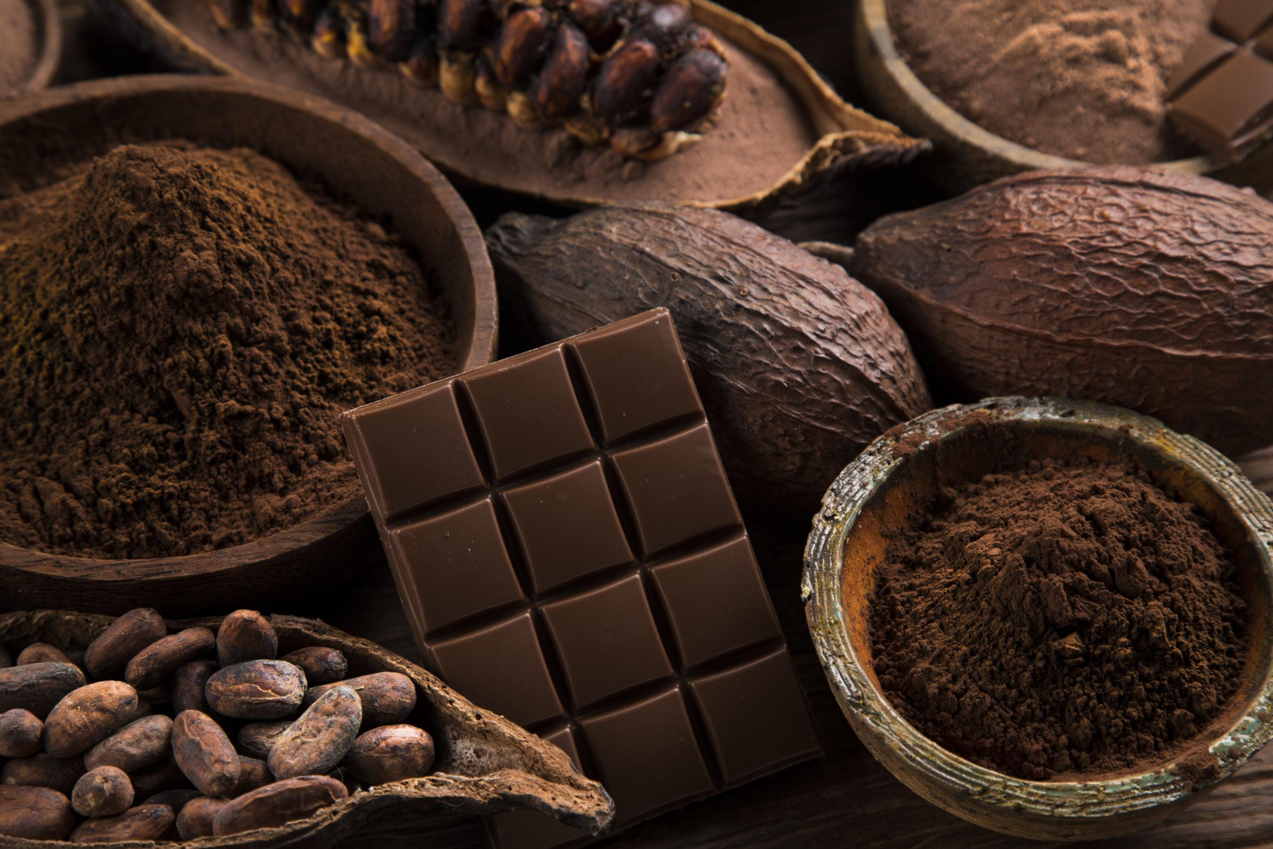 Les bienfaits du chocolat